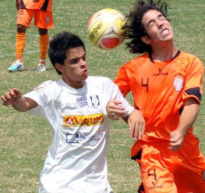 Jogo disputado entre Ceilandia e Legião