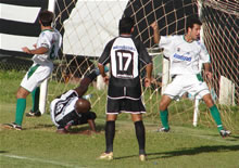 Unaí 1 x 2 CEC: Robinho faz o gol da vitória