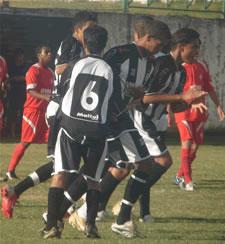 CEC comemora o primeiro gol