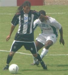 Diego Macedo na vitória sobre o Gama