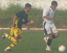 Infantil enfrentou a Guaraense
