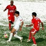 Dimba, em foto de arquivo, marcou os dois gols
