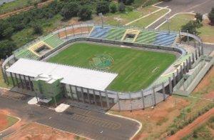 Estádio do Araguaina: não se compara com o Abadião