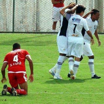 Dimba, Allan Dellon e Thiago Félix: decisivos