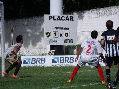 7 Norte x Botafogo-DF: prevalesceu a maior experiência