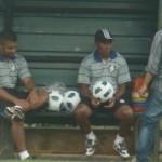 Junior e Rogério: todos estão sofrendo