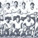 Teixeira, último em pé e a direita: um dos mais regulares da história