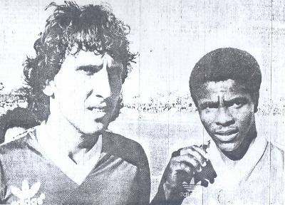 Marquinhos em jogo da seleção do DF e Flamengo em 1983