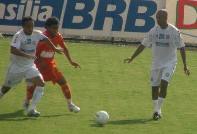 CEC contra o laranjas em fevereiro de 2008: vitória laranja no Abadião por 2x0