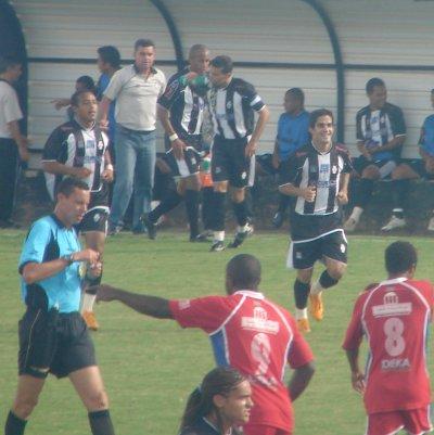 O time de Ricardo Oliveira tinha Rodrigo Félix e Diego Macedo, eleito o craque do campeonato.