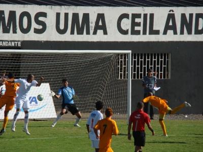 Bebeto empata para o Brasiliense em 2011: algoz do Ceilândia