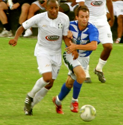 Nos jogos treinos a bola é Penalty