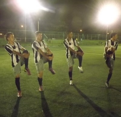 Juvenil começou a preparação para 2012