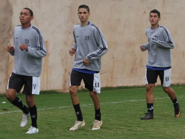Rotina de treinamento: jogadores ansiosos