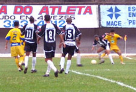 Em 2005: vitória do CEC em Campo Grande por 2 x 1