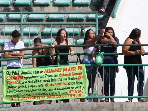 Pais cobraram mais apoio para os meninos da Ceilândia