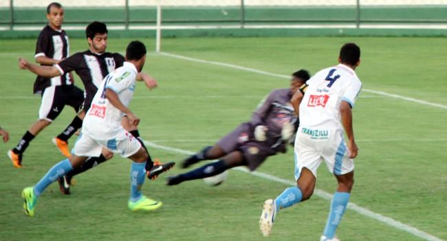 Luiz Fernando marca contra a Aparecidense:1 x 0