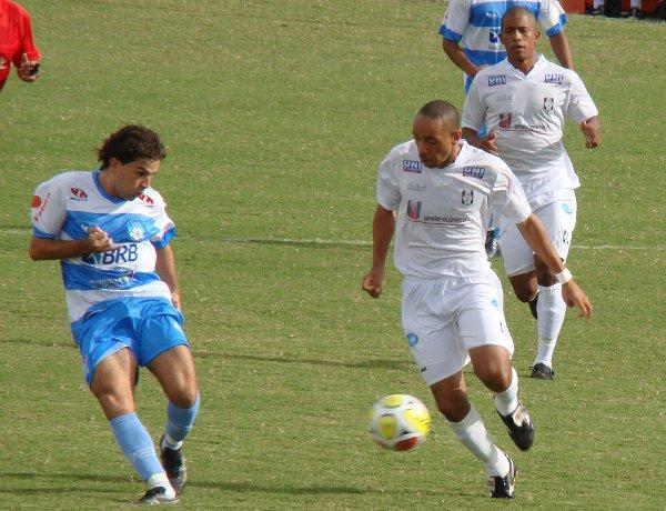 Campeão em 2010: empate em casa contra o Luziânia