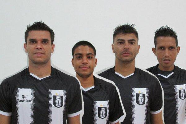 Marcelo, Vitinho, Edinho e Rosembrick: reforços alvinegros