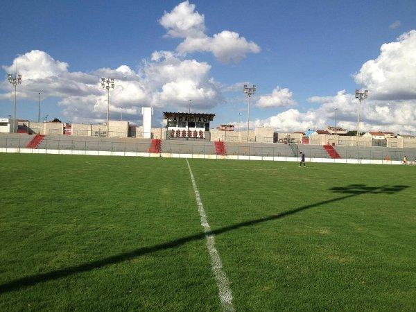 Estádio Regional: simples e acolhedor