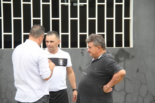 Sidney, Adelson de Almeida e Beni: homens do futebol do CEC