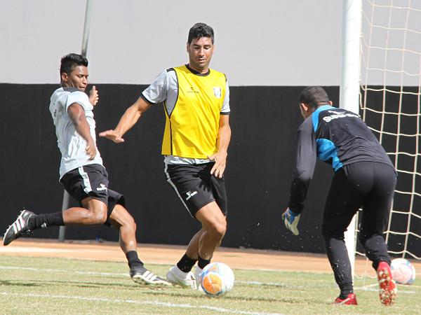 Claudio Luz e Gilmar Herê: de volta aos treinamentos