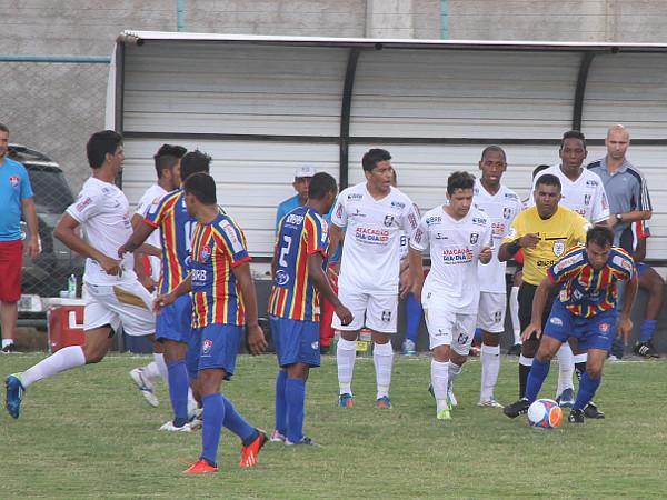 Andre Tavares: poucos minutos em campo contra o Paracatu