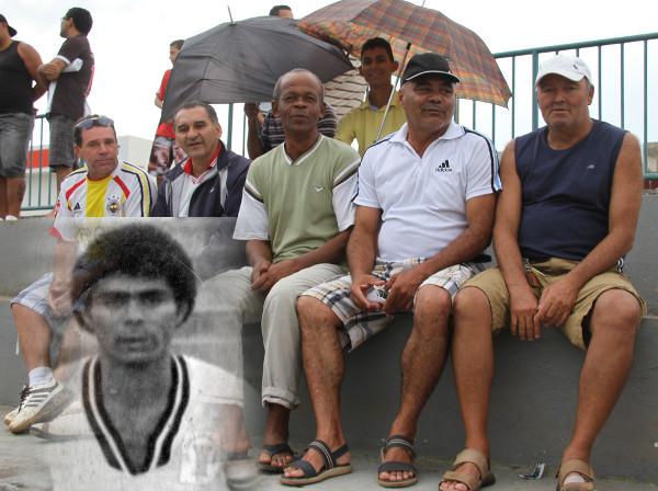 O saudoso Bodão, do time de 79, assistiu vitória em 2014 pouco antes de falecer