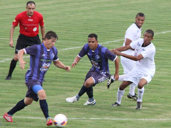 Confuso com a bola nos pés, Ceilândia foi surpreendido pelo Cruzeiro