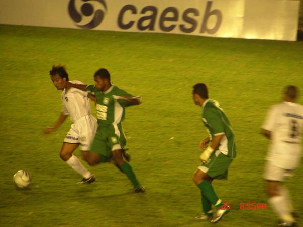 Sérgio Manoel comandou a virada alvinegra em 2007: Ceilândia 2 x 1 Gama