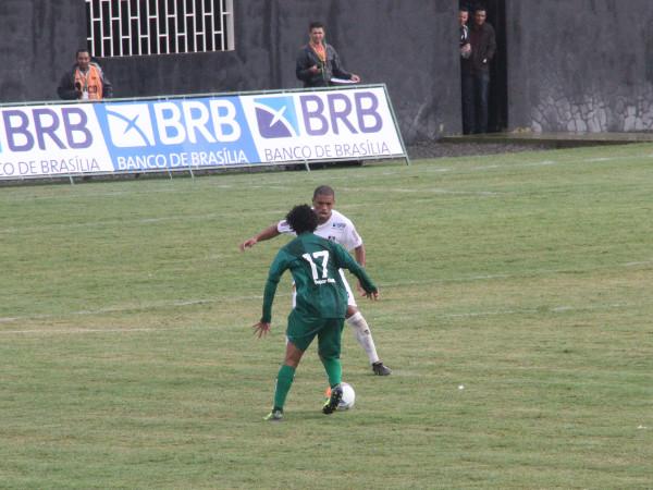 2015: Gama dominou o Ceilândia, mas venceu num contra-ataque