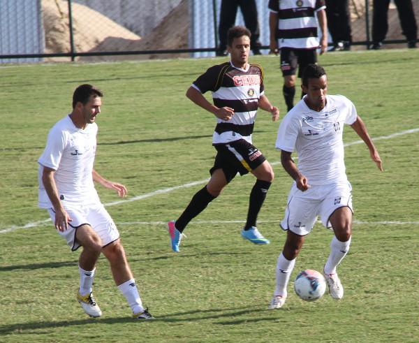 Em abril de 2014, outro empate sem gols no Regional de Ceilândia entre CEC e Sobradinho