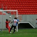 Chefe fez o gol do empate: era o começo da reação
