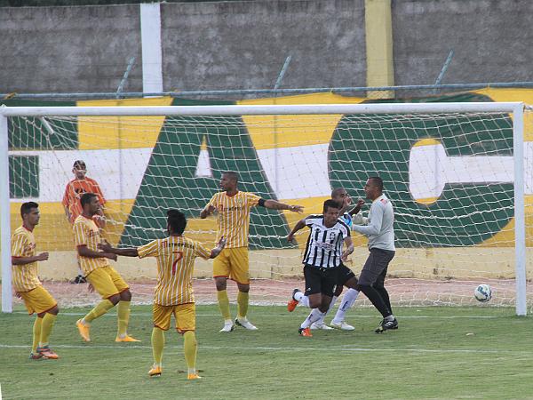 Clécio fez o gol do Ceilândia
