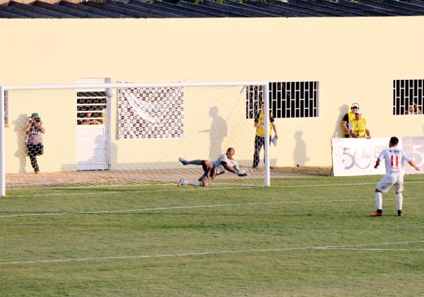 Penalti no travessão: Ceilândia está fora da competição