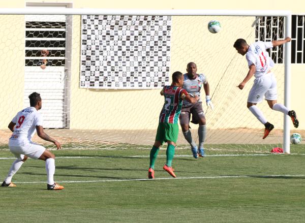 O Ceilândia teve apenas uma chance clara de gol: no segundo tempo, com Filipe Cirne, que perdeu