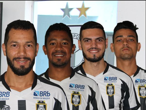 Alcione, Almeida, Felipe e Maycon: dois retornos, duas chegadas