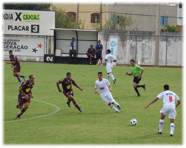 Em 2011, o Ceí foi derrotado em casa pelo Caxias
