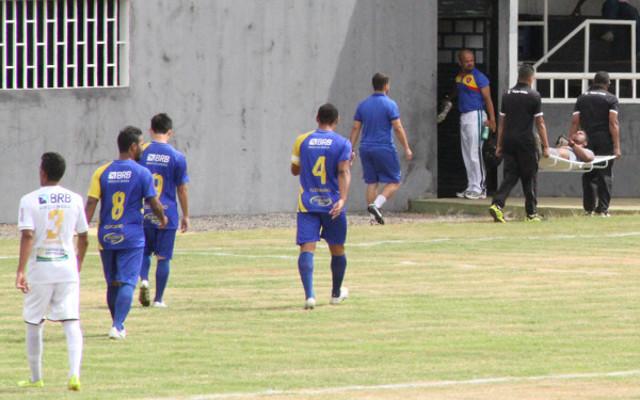 Em 2015, o Paracatu deixou o campo depois de 1 minuto de bola rolando e 4 de jogo
