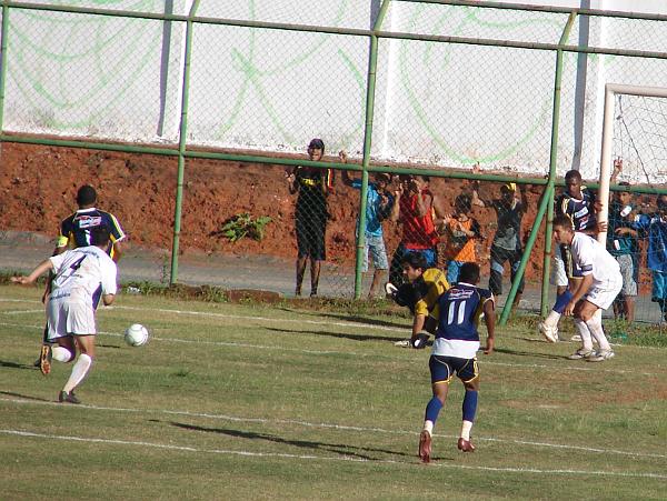 Em março de 2007, empate sem gols entre Ceilândia e Paranoá no JK