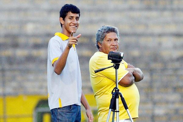 Seu Luizão trabalhou no Brasiliense antes de se transferir para o Ceilândia (Crédito:Brasiliense FC)