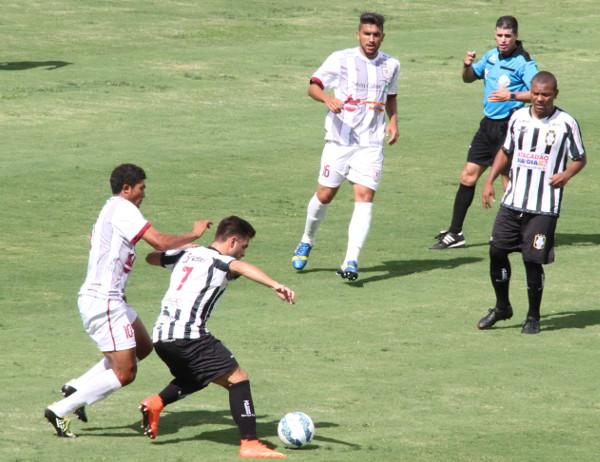 Ano passado, empate sem gols no Bezerrão