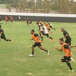 Semana focada em treinamento, Luziania focado em jogo