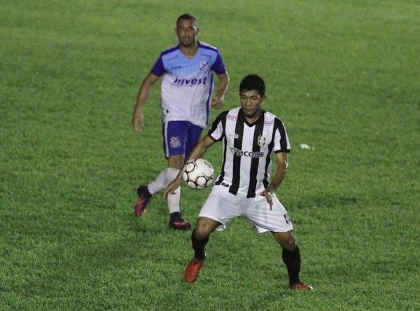 Gordo entrou no final do jogo contra Sinop: pouco tempo para uma correta avaliação