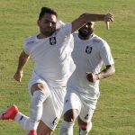 Filipe Cirne comemora a boa atuação e o gol do empate