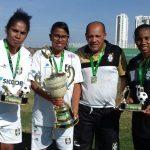 Alane artilheira; Bia e Valéria: parabéns meninas