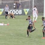 Didão comemora: com a chuva, o gol da vitória
