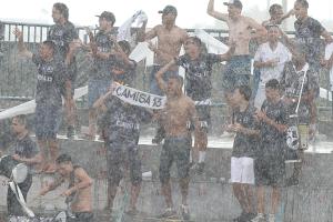 Camisa 13 comemora sob chuva intensa: Ceilândia 1 x 0 Sobradinho
